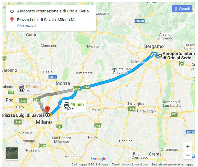 Orioshuttle sbarca su Google Maps!